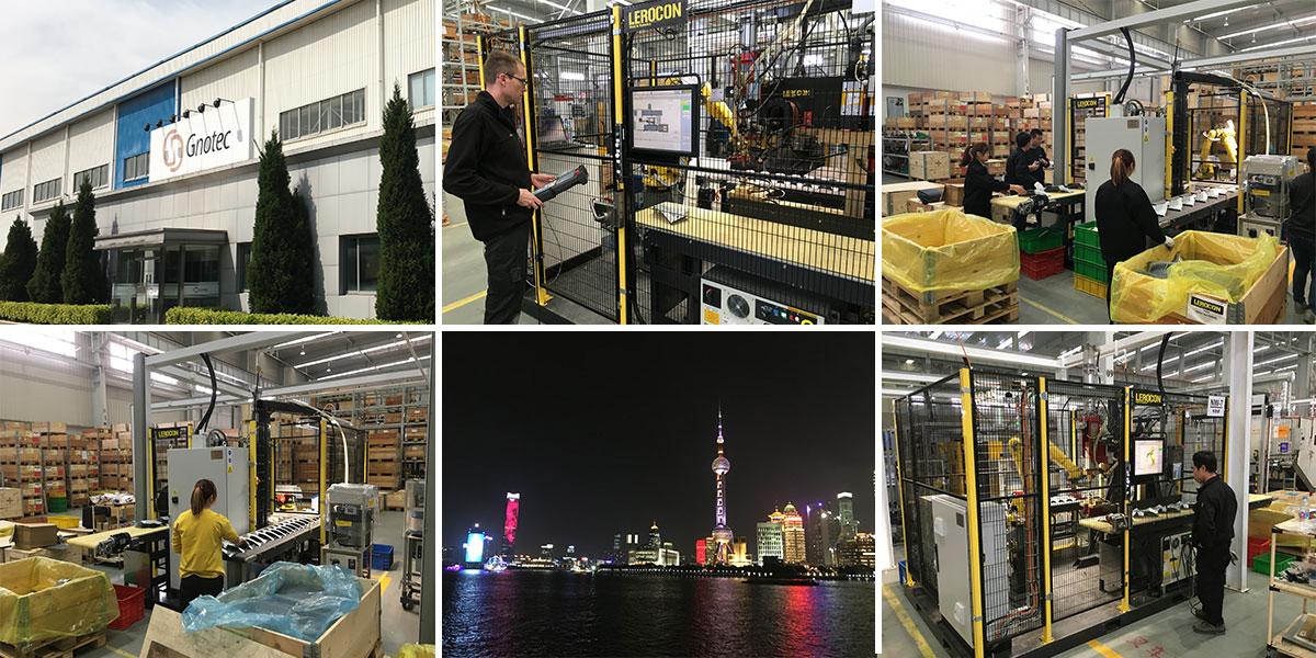 Lyckad installation av första Lerocon-cellen i Kina!