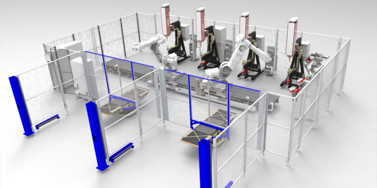 Robotceller till svensk lastbilstillverkare